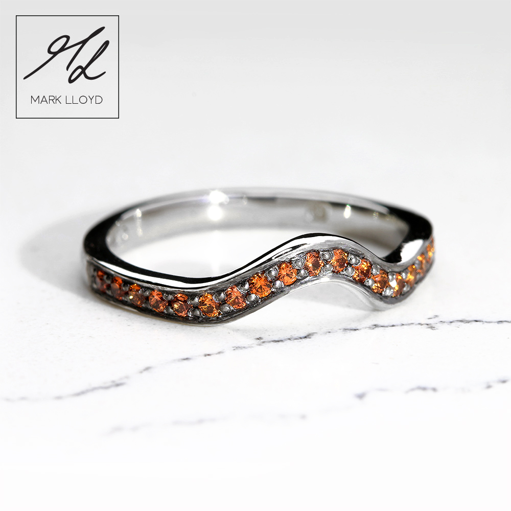 Palladium-Shaped-Ring–Diamond-Orange-Sapphires