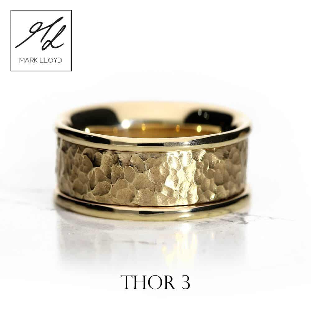 Thor Mens Ring 3 Mark Lloyd Wedding Rings