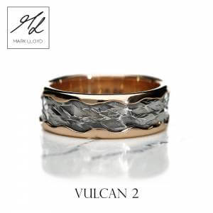 Vulcan 2_Ring_Rose_Gold_Silver_Mark Lloyd