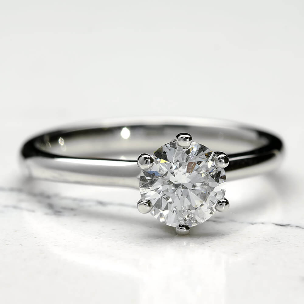 princess ring diamond collections enhanced white gold engagement cut products large solitaire