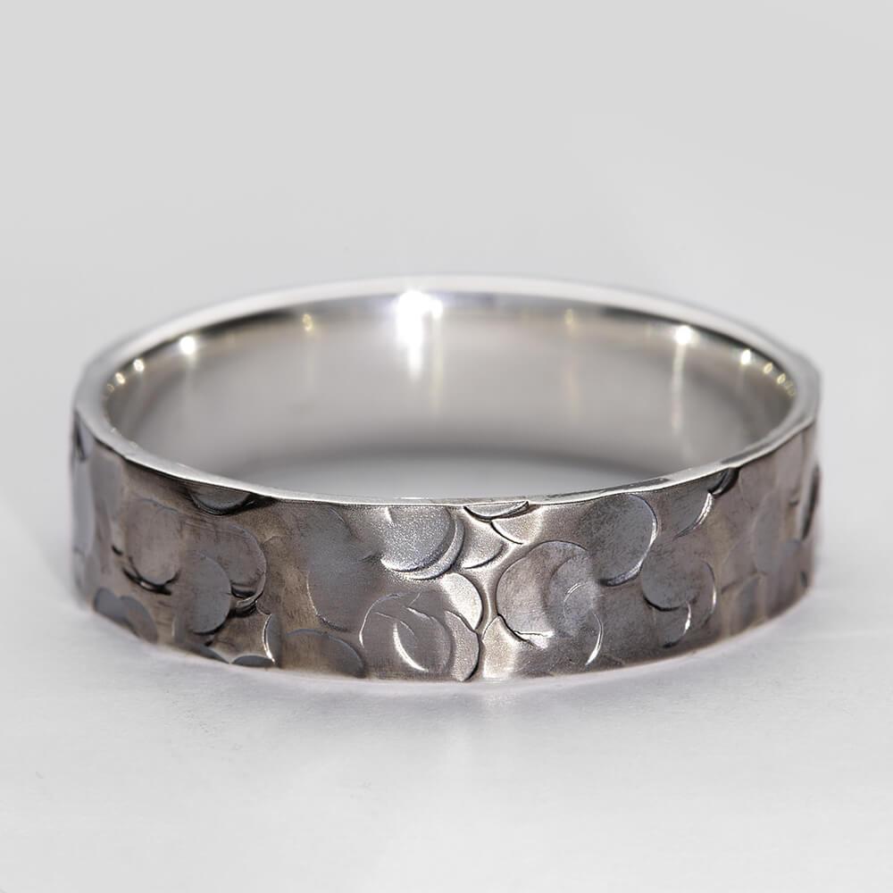 Minerva I oxidised silver