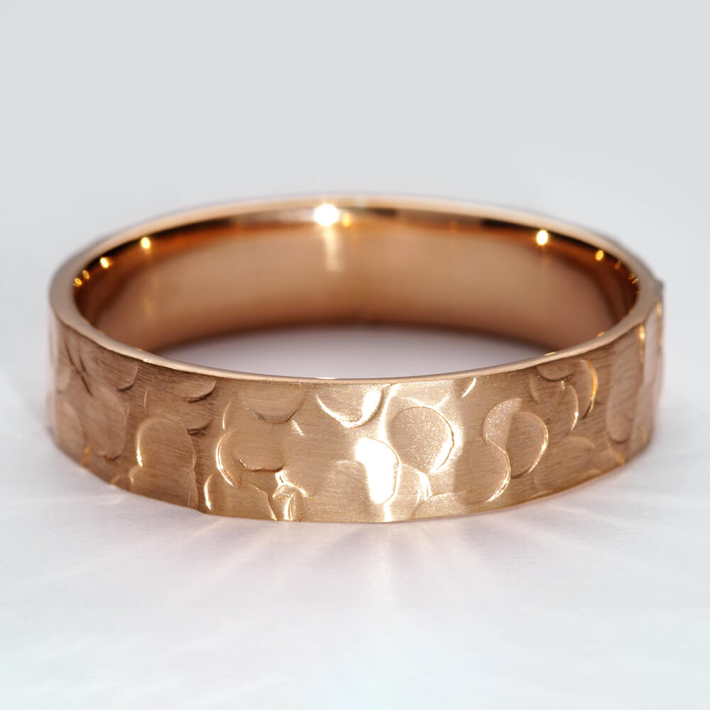 Minerva VII 9ct rose gold matt finished