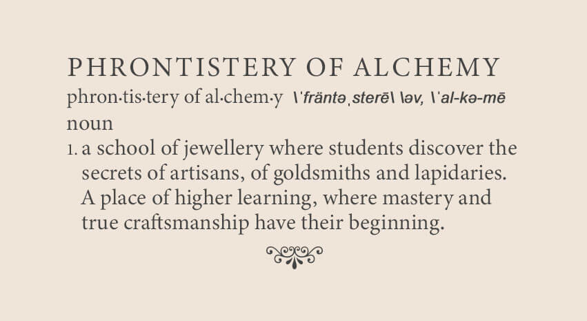 the phrontistery of alchemy